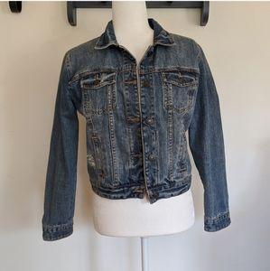 Abercrombie & Fitch Medium Wash Denim Jacket